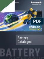 Panasonic Battery Catalogue en 2012
