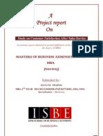 Swaraj PU Report