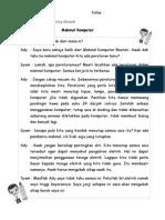 Baca Dan Faham Dialog Dibawah
