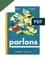Langue Française Lecture courante CE1 Parlons 1962