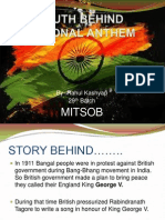 Truth Behind National Anthem
