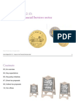 Budget 2012-13 Impact on Financial Services Sector