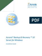 BackupRecoveryServerWindows Installationguide.en