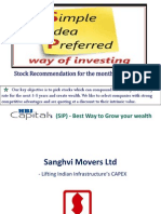 Sanghvi Movers Ltd