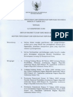 Permendikbud No 57 Tahun 2012 - Uji Kompetensi Guru