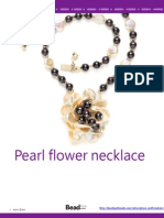 Pearl Flower Necklace - How to