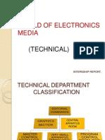 electronics media Internship Report ZEE NEWS CG