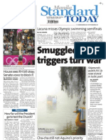 Manila Standard Today -- July 30, 2012