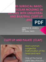 Naso-Alveolar Moulding for Cleft Lip and Palate
