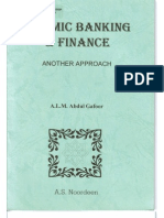 Islamic Banking and Finance - Another Approach
