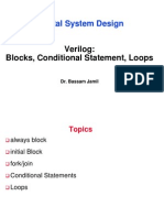 Verilog Basics 4 Blocks CondStatement Loops