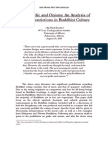 An Analysis of Eating Restrictions in Buddhist Culture