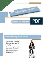 interview skills byBahg Chand