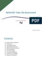 Reformer Tube Life Assessment Thepetrostreet