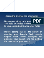 09_Accessing Engineering Information (Ch8)