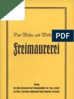 Schneider, Robert - Das Wesen und Wirken der Freimaurerei,