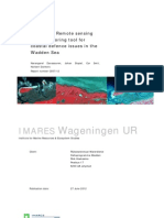 The use of Remote sensing as a monitoring tool for coastal defence issues in the Wadden Sea