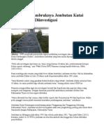 DPR Minta Ambruknya Jembatan Kutai Kartanegara Diinvestigasi