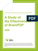 78731_BrainPOP 2008-2009 Effectiveness Report 082109X