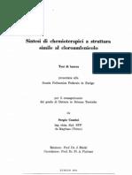 cloroamfenicolo sintesi di chemioterapici simili