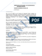 LEY Nº 28879 - LEY DE SERVICIOS DE SEGURIDAD PRIVADA