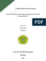 Sejarah Konflik Indonesia - Malaysia