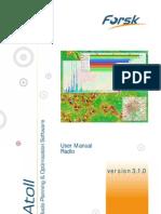 Atoll 3.1.0 User Manual Radio E2
