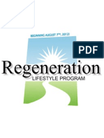 regeneration lifestyle program ppt
