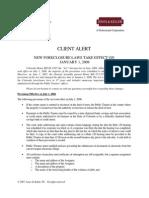 Client Alert Foreclosures