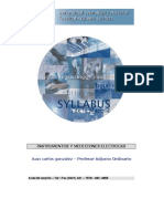Instrumentos y Mediciones Eléctricas