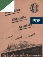 Feuerschutz - Luftschutz - Gasschutz / Gebr. Heinrich Elsterwerdea