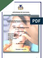 Proyecto Integrador - Gingivitis en Infantes