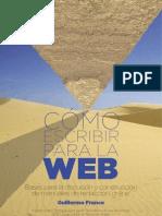 Como Escribir en La Web
