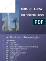 World Highest  Building ( Burj Kalifa) Air Disruption