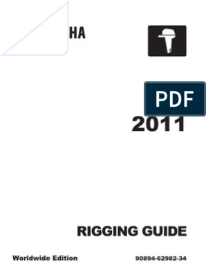 Rigging Guide - Yamaha Outboard Motors 2011 | Machines ... on