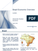 Alexandre Tombini Brazil Economic Overview 27-07-12