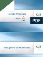 5.1 Estudio Financiero