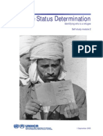 Refugee Status Determination