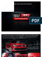 Cat Logo Golf Gti y Golf Gti 35 Aniversario 2012