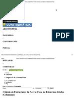 Cálculo de Estructuras de Acero_ Caso de Esfuerzos Axiales (Columnas) _ Construpedia, enciclopedia construcción