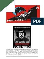 Não seja palhaço Vote Nulo