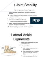 Biomechanics Ankle Presentation