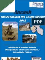 Boletin 4 Transf de Canon Minero Ancash