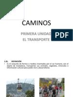 Presentacion Cap.I EL TRANSPORTE