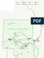 Park Map of Pinnacles National Monument