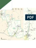 Park Map of Zion National Park