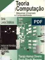 TEORIA DA COMPUTAÇÃO Máquinas Universais e Computabilidade
