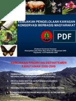 Kebijakan Pengelolaan Kawasan Konservasi Berbasis Masyarakat