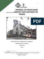 Análisis Movilidad Sanantonio de Prado