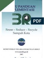 Buku Panduan Implementasi Reuse, Reduce dan Recycle Sampah di Kawasan Kota